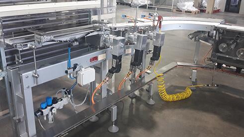 Übergeordnete Steuerung für Riegelproduktion
