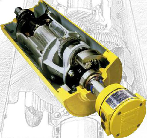 Trommelmotoren mit IP66/69plus