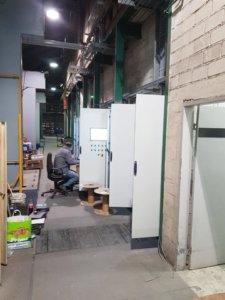 Schaltschränke für die Pulverbeschichtungsanlage