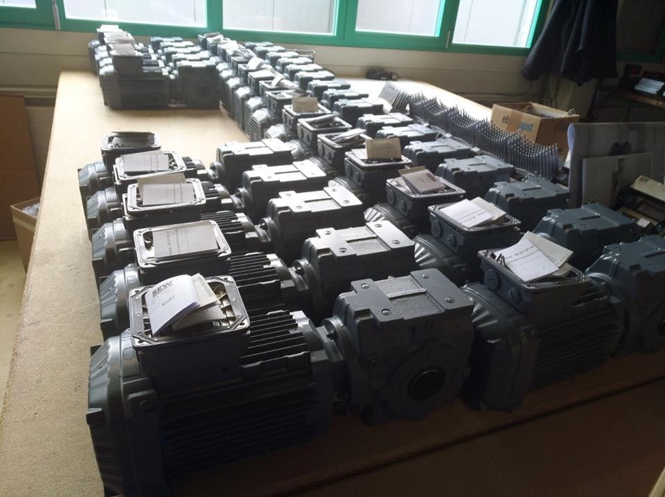 43 Getriebemotore