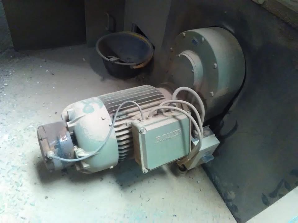 Serviceeinsatz bei einem Bauer Getriebemotor
