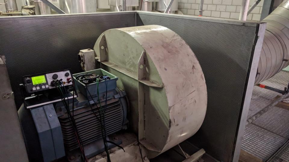 Zustandsmessung eines Ventilatorantriebs