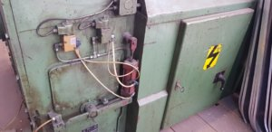 Serviceeinsatz an Blechumformmaschine