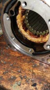 Reparatur der angelieferten Servomotoren