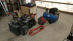 Geräteprüfung nach DIN VDE 701/702 in einem Kieswerk