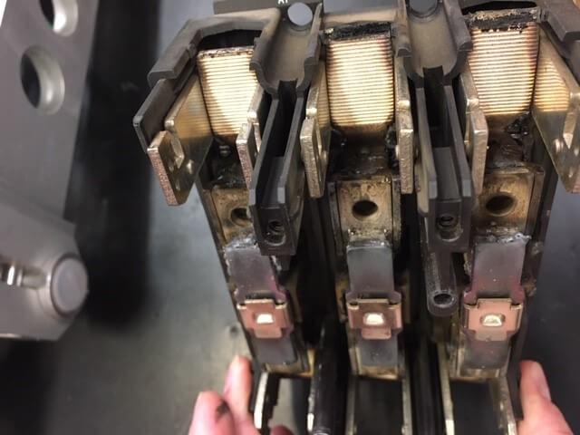 Schneller Austausch eines Elektromotors