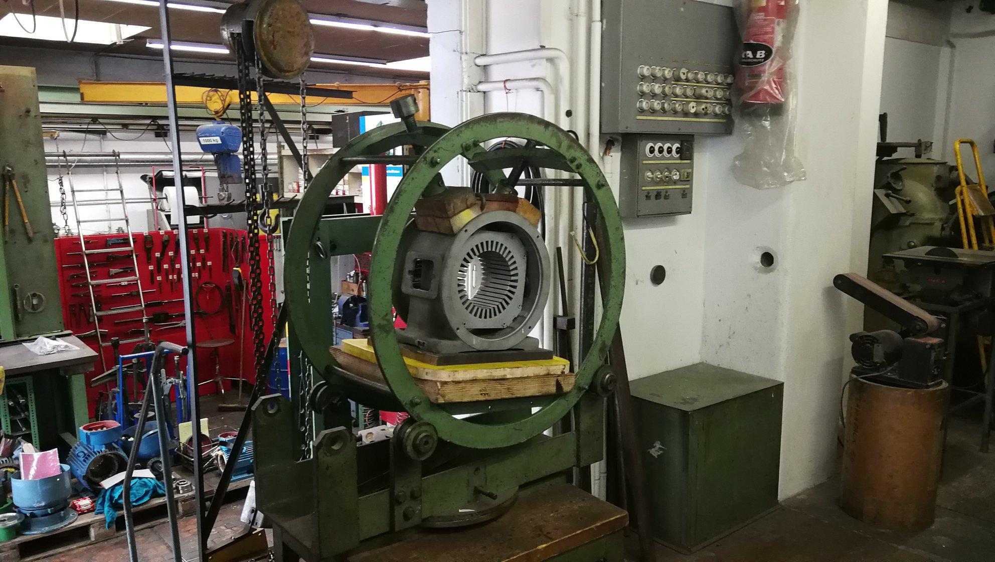 Neuwicklung eines 4-poligen Motors