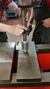 Reparatur in unserer Werkstatt
