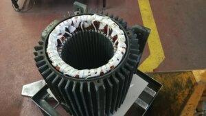 Neuwicklung eines 8poligen (750rpm) Motor