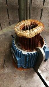 Neuwicklung eines Pumpenmotors