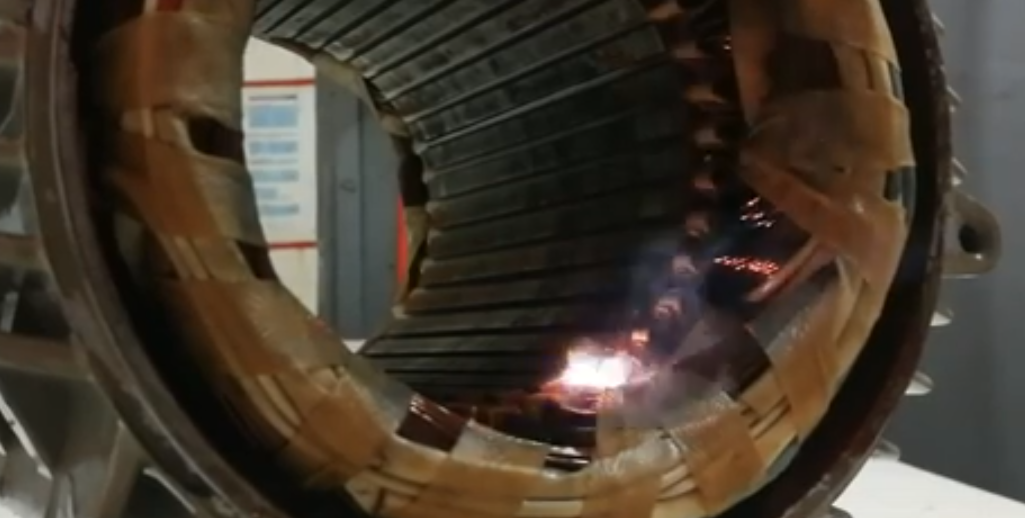 Durchschlag gegen Eisen