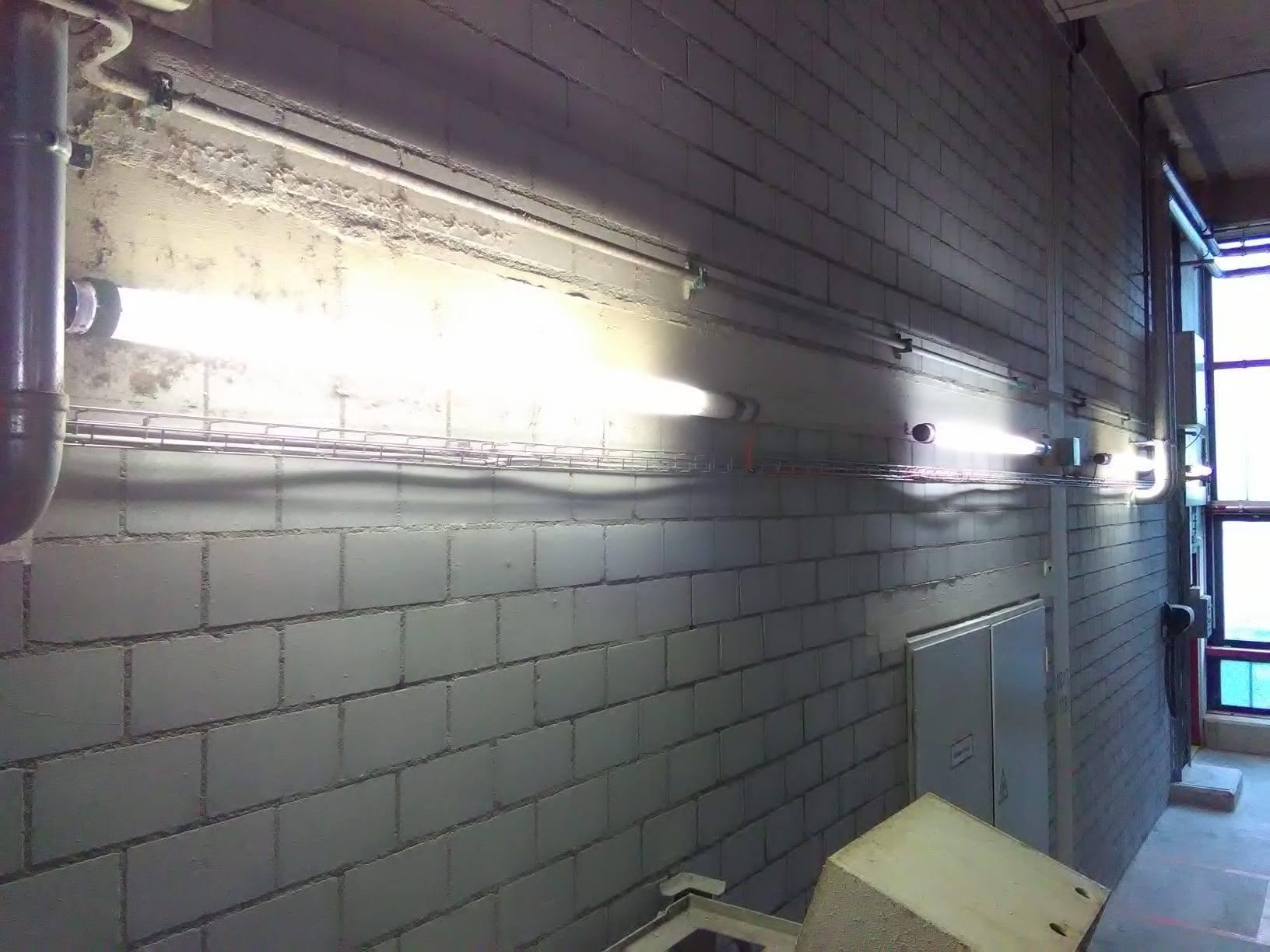 Wir ersetzen auch Beleuchtungen