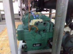 Einbau Kältekompressor