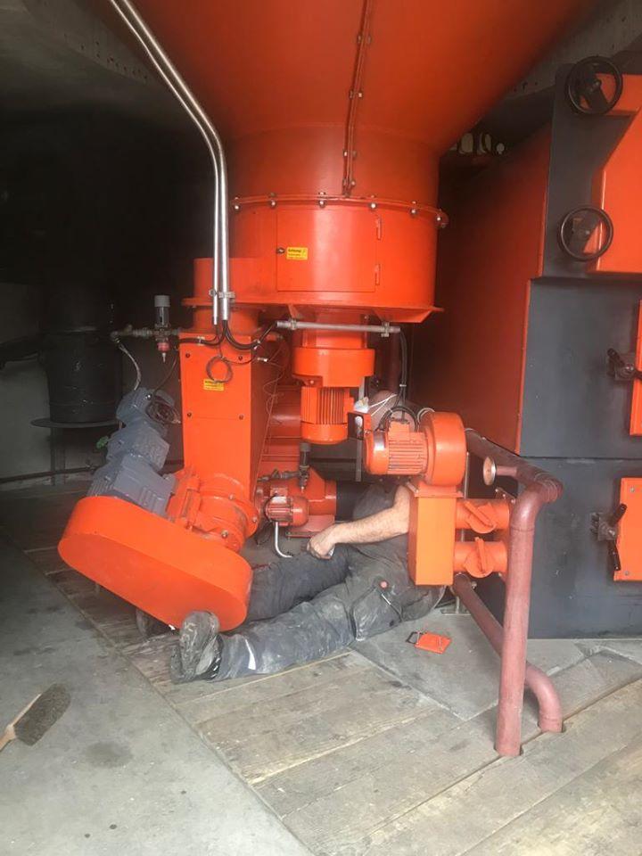 Reparatur eines Dosier-Getriebemotors