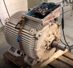 Stromdurchfluss bei einem Motor