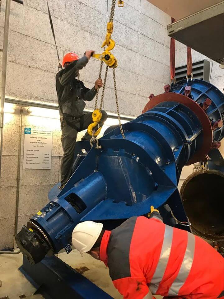 Instandsetzung Kablan S-Turbine