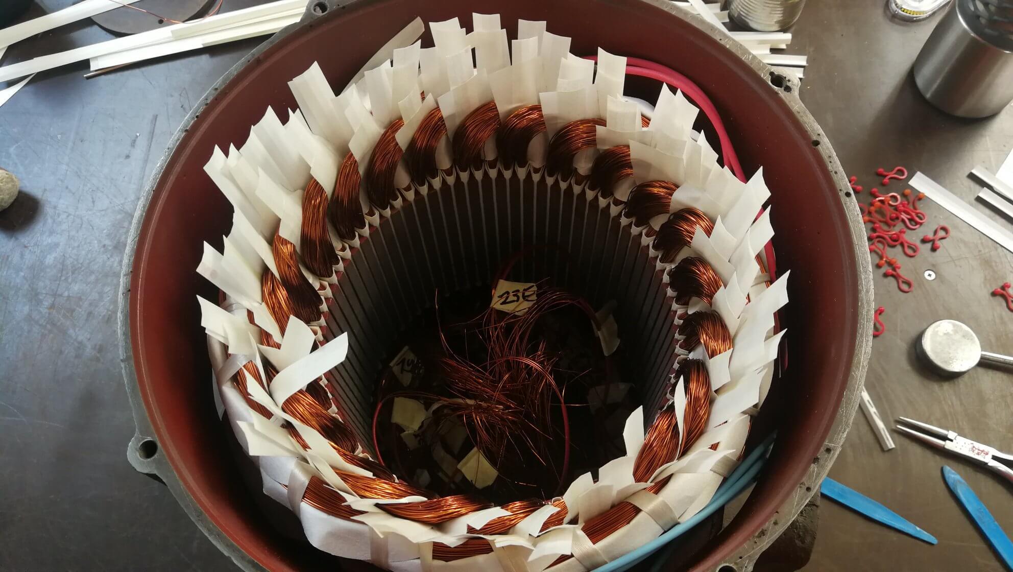 Neuwicklung eines komplexen Liftmotors